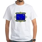 Alaska Flag White T-Shirt