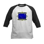 Alaska Flag Kids Baseball Jersey