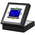Alaska Flag Keepsake Box