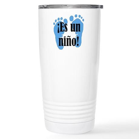 Es Un Nino! It's a Boy! Stainless Steel Travel Mug