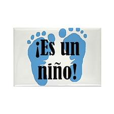 Es Un Nino! It's a Boy! Rectangle Magnet