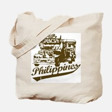 Philippines Jeepney Tote Bag