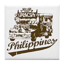 Philippines Jeepney Tile Coaster