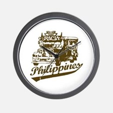 Philippines Jeepney Wall Clock
