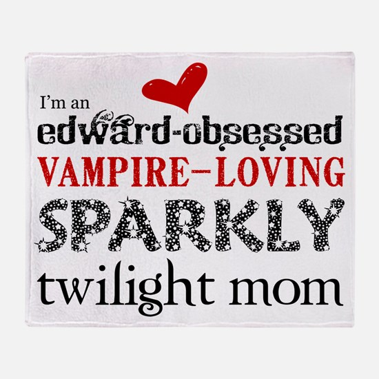 Sparkly Twilight Throw Blanket
