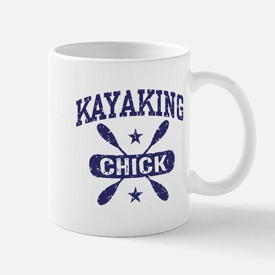 Kayaking Chick Mug