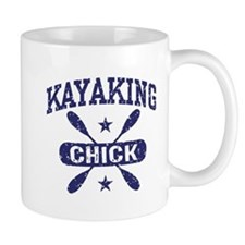 Kayaking Chick Mug