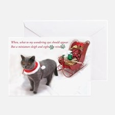 penny claus card2b Greeting Cards