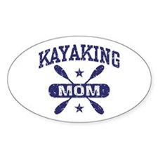 Kayaking Mom Decal
