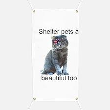 Shelter Pets Banner
