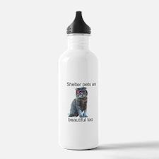 Shelter Pets Water Bottle