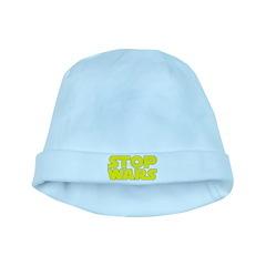 Stop Wars baby hat