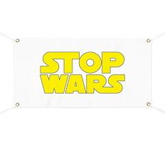 Stop Wars Banner