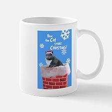 Unique Blue cat Mug