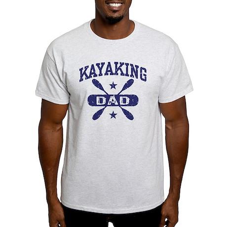 Kayaking Dad Light T-Shirt