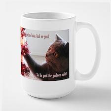 British Shorthair Cat Large Mug