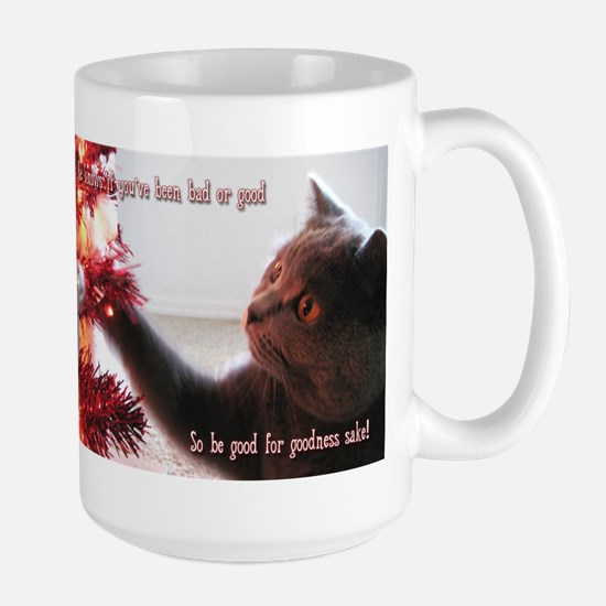 British Shorthair Cat Large Mug