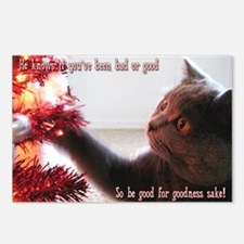 British Shorthair Cat Postcards (Package of 8)