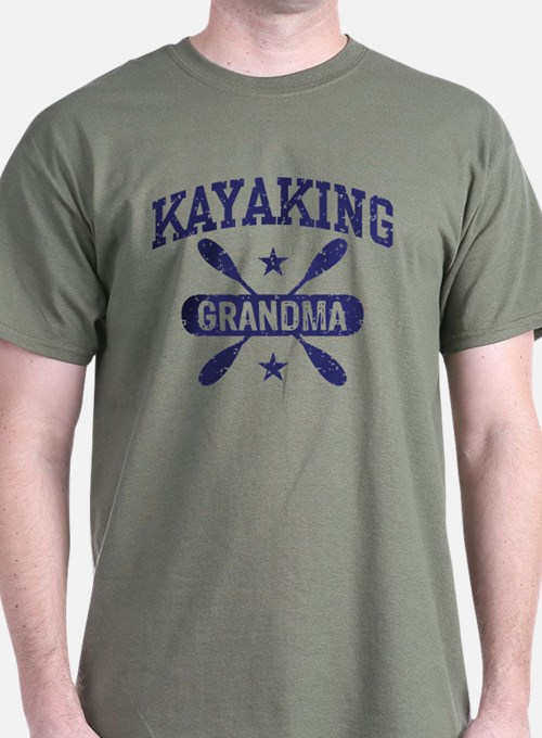 Kayaking Grandma T-Shirt