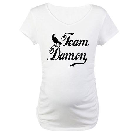 Team Damon Maternity T-Shirt