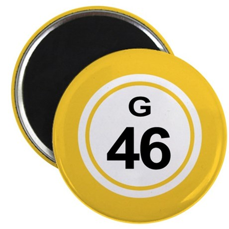g46 BUTTON 2.5 Magnets