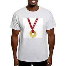 Funny Torino 2006 Olympics Go Ash Grey T-Shirt