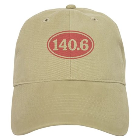140.6 Pink Triathlon Oval Cap