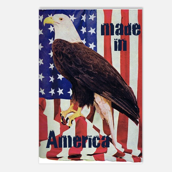 Made in America, Bald Eagle Postcards (Package of