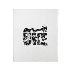 The Uke Throw Blanket