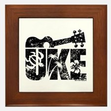 The Uke Framed Tile
