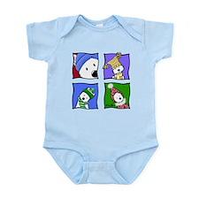 KiniArt™ Winter Westies Infant Bodysuit