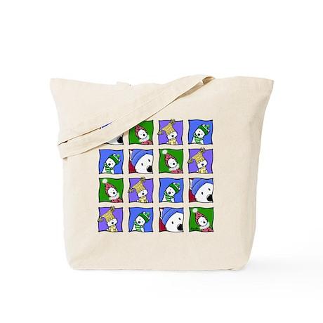 KiniArt™ Winter Westies Tote Bag