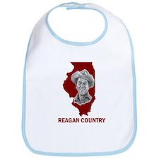 Reagan Illinois Country Bib