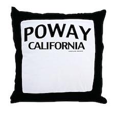 Poway Throw Pillow