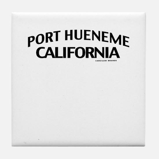 Port Hueneme Tile Coaster