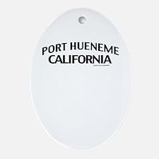 Port Hueneme Ornament (Oval)