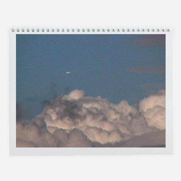 UFO Barn Wall Calendar