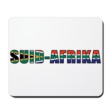 South Africa (Afrikaans) Mousepad