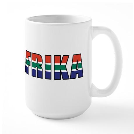 South Africa (Afrikaans) Large Mug