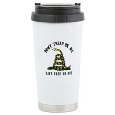 Don't Tread on Me Travel Coffee Mug