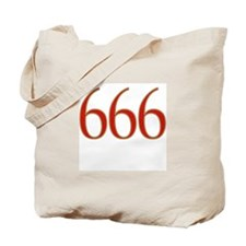 Evil 666 Tote Bag