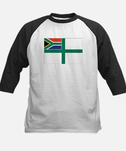 South Africa Naval Ensign Kids Baseball Jersey