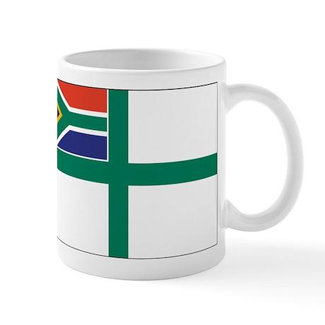 South Africa Naval Ensign Mug