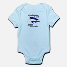 El salvadorain by birth Infant Bodysuit