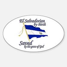 El salvadorain by birth Decal