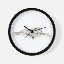 Lazy Lab Wall Clock