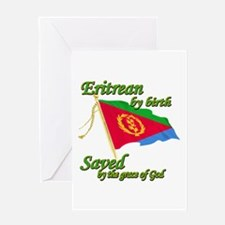 Eritrean by birth Greeting Card