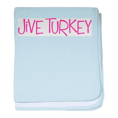 Jive Turkey baby blanket