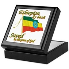 Ethiopian by birth Keepsake Box