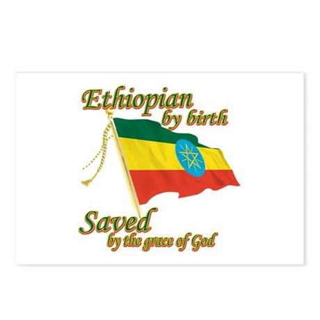 Ethiopian by birth Postcards (Package of 8)